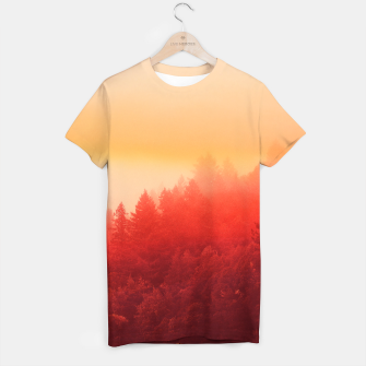 Thumbnail image of Red Sky T-shirt, Live Heroes