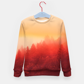 Thumbnail image of Red Sky Kid's Sweater, Live Heroes