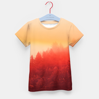 Thumbnail image of Red Sky Kid's T-shirt, Live Heroes