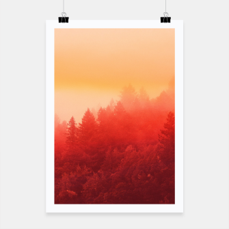 Miniatur Red Sky Poster, Live Heroes