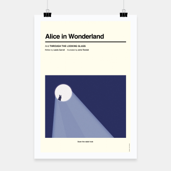 Thumbnail image of Alice In Wonderland Affiche, Live Heroes