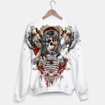Thumbnail image of Pirate Skull Sweater, Live Heroes