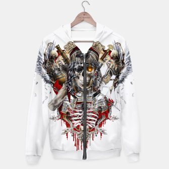 Thumbnail image of Pirate Skull Hoodie, Live Heroes
