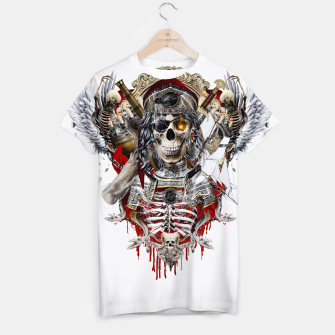 Thumbnail image of Pirate Skull T-shirt, Live Heroes
