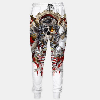Thumbnail image of Pirate Skull Sweatpants, Live Heroes