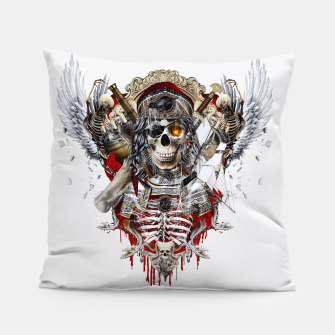Thumbnail image of Pirate Skull Pillow, Live Heroes
