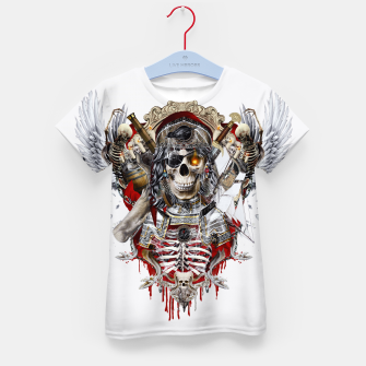 Thumbnail image of Pirate Skull Kid's T-shirt, Live Heroes