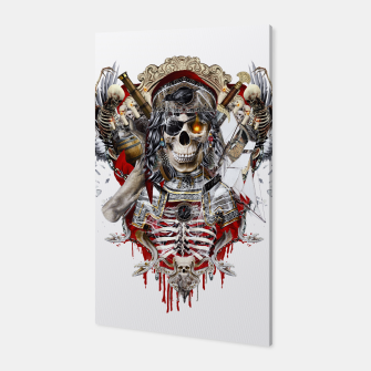 Thumbnail image of Pirate Skull Canvas, Live Heroes