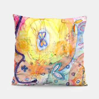 Thumbnail image of Creation With Wings  Pillow, Live Heroes
