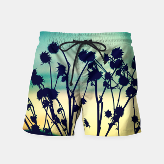 Thumbnail image of Enjoy Your Day Swim Shorts, Live Heroes