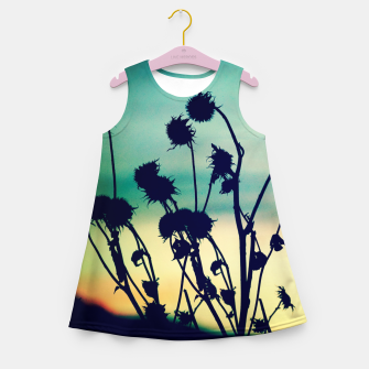 Thumbnail image of Enjoy Your Day Girl's Summer Dress, Live Heroes