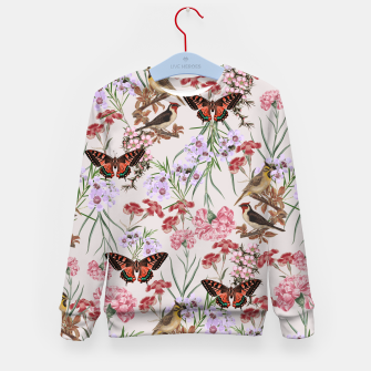 Miniatur Floral Fantasy Kid's Sweater, Live Heroes