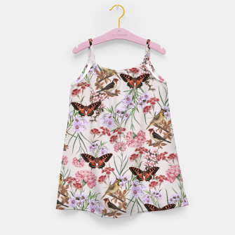 Miniatur Floral Fantasy Girl's Dress, Live Heroes