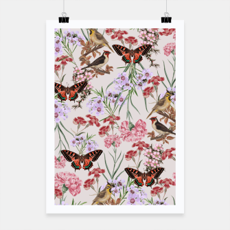 Thumbnail image of Floral Fantasy Poster, Live Heroes