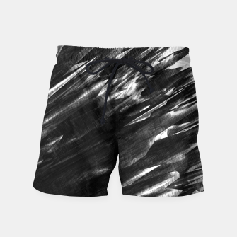 Thumbnail image of Grayscale Swim Shorts, Live Heroes