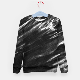 Thumbnail image of Grayscale Kid's Sweater, Live Heroes