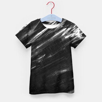 Thumbnail image of Grayscale Kid's T-shirt, Live Heroes