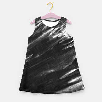 Thumbnail image of Grayscale Girl's Summer Dress, Live Heroes
