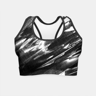 Thumbnail image of Grayscale Crop Top, Live Heroes