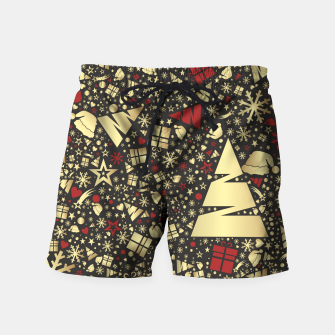 Thumbnail image of Golden Christmas   Badeshorts, Live Heroes