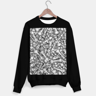 Thumbnail image of Blitz Chess B&W Sweater regular, Live Heroes