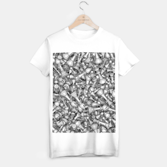 Thumbnail image of Blitz Chess B&W T-shirt regular, Live Heroes
