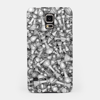 Thumbnail image of Blitz Chess B&W Samsung Case, Live Heroes