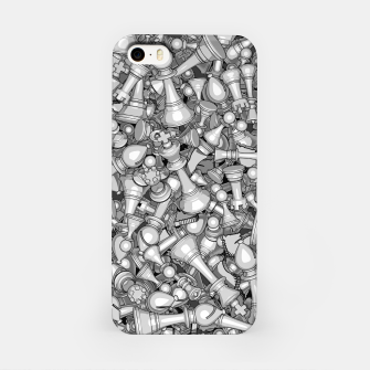 Thumbnail image of Blitz Chess B&W iPhone Case, Live Heroes