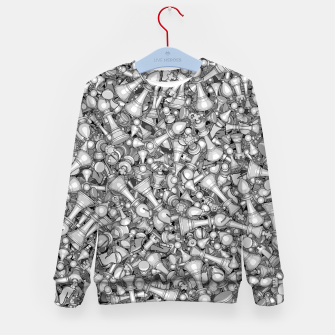 Thumbnail image of Blitz Chess B&W Kid's Sweater, Live Heroes