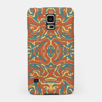 Multicolored Abstract Ornate Pattern Samsung Case thumbnail image