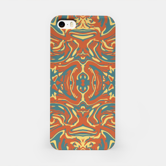 Multicolored Abstract Ornate Pattern iPhone Case thumbnail image