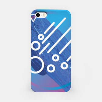 Thumbnail image of Abstract digital art iPhone Case, Live Heroes