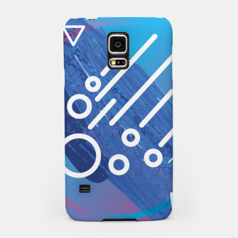 Thumbnail image of Abstract digital art Samsung Case, Live Heroes