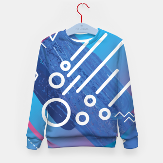 Thumbnail image of Abstract digital art Kid's Sweater, Live Heroes