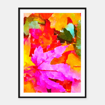 Thumbnail image of Autumn Framed poster, Live Heroes