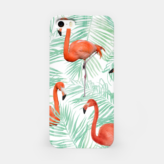 Thumbnail image of Flamingo & Mint Palm iPhone Case, Live Heroes
