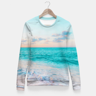 Thumbnail image of Ocean Bliss Fitted Waist Sweater, Live Heroes