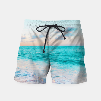 Thumbnail image of Ocean Bliss Swim Shorts, Live Heroes