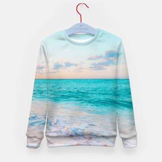 Thumbnail image of Ocean Bliss Kid's Sweater, Live Heroes