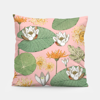 Thumbnail image of Vintage Royal Gardens Pillow, Live Heroes
