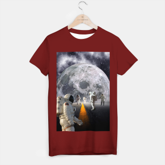 Thumbnail image of The Lost Astronauts T-shirt regular, Live Heroes