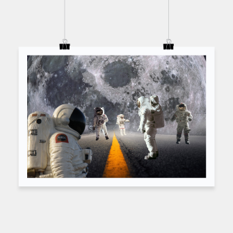 Thumbnail image of The Lost Astronauts Poster, Live Heroes