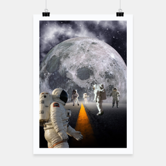 Miniatur The Lost Astronauts Poster, Live Heroes