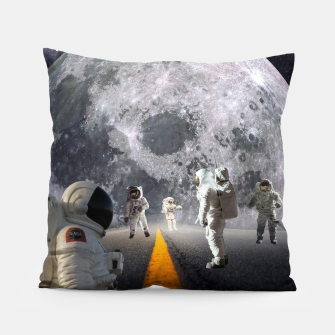 Thumbnail image of The Lost Astronauts Pillow, Live Heroes
