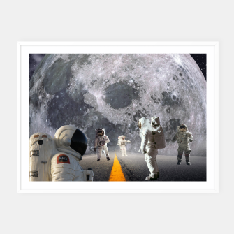 Thumbnail image of The Lost Astronauts Framed poster, Live Heroes