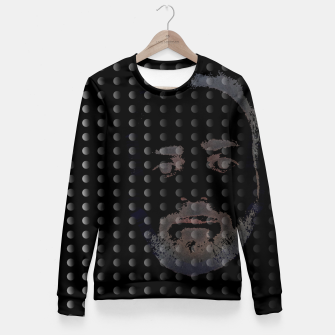 Thumbnail image of dots beard Fitted Waist Sweater, Live Heroes