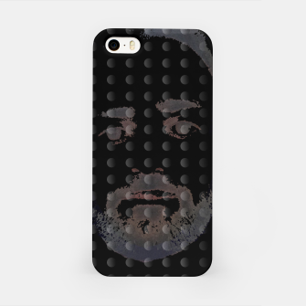 Thumbnail image of dots beard iPhone Case, Live Heroes