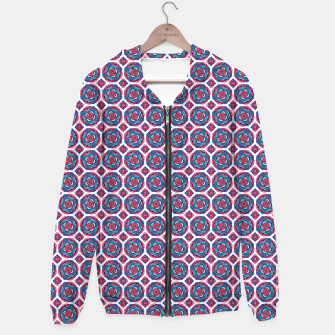 Thumbnail image of Red White and Blue Kaleidoscope Hoodie, Live Heroes