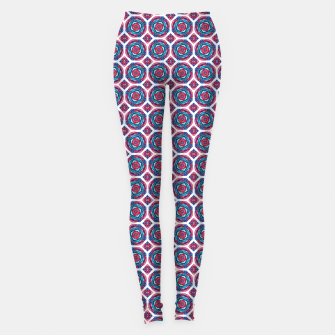 Thumbnail image of Red White and Blue Kaleidoscope Leggings, Live Heroes