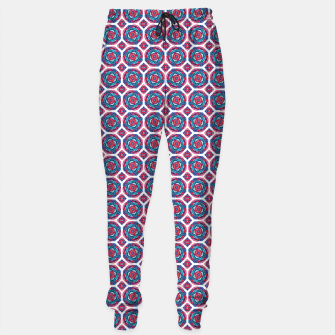 Thumbnail image of Red White and Blue Kaleidoscope Sweatpants, Live Heroes
